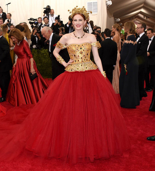 Karen Elson at the 2015 MET Gala