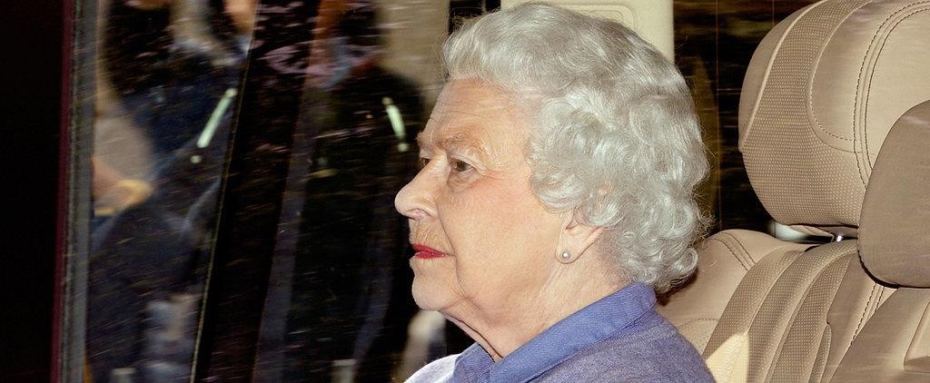 Queen Elizabeth II Meets Her New Great-Granddaughter, Princess Charlotte