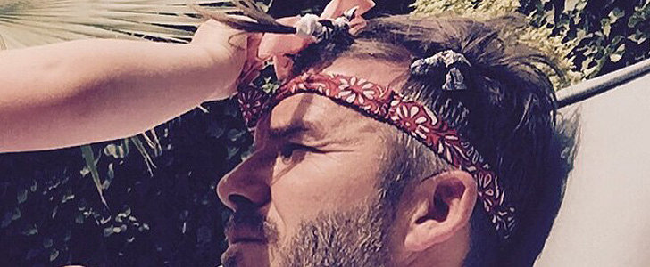 "Harper Helps David Beckham ""Feel Pretty"" After His Big Birthday Bash"