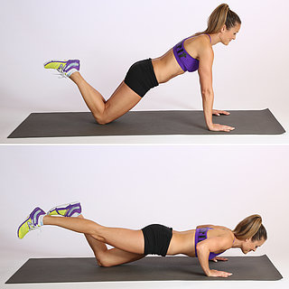 One-Legged Push-Up on Knees
