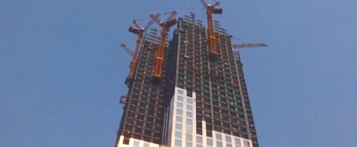 China Just Built a Massive Skyscraper in No Time