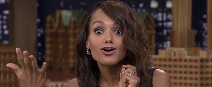 Kerry Washington and Jimmy Fallon's Lip Flip Will Leave You Speechless