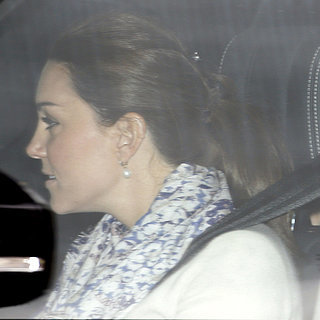 Kate Middleton Goes to Anmer Hall After Charlotte's Birth