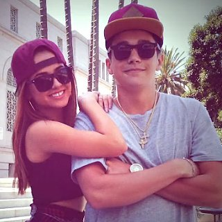 "Becky G And Austin Mahone in ""Lovin' So Hard"""