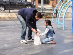Social Experiment Uses Puppy to Abduct Children As Parents Watch