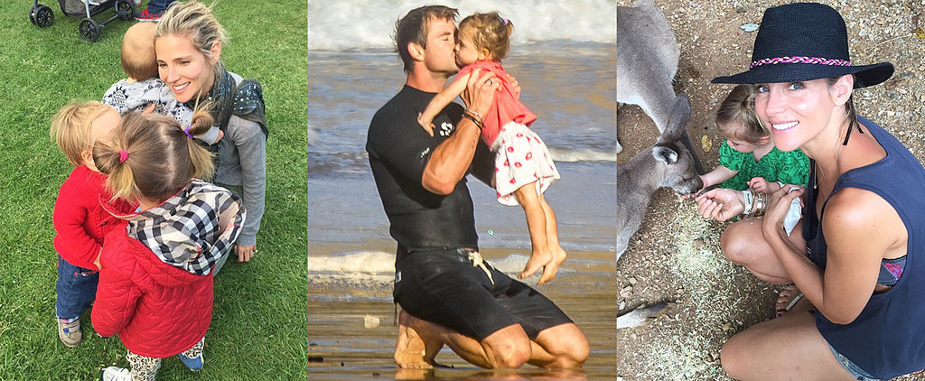 The Sweetest Pictures of Chris Hemsworth and Elsa Pataky's Adorable Family