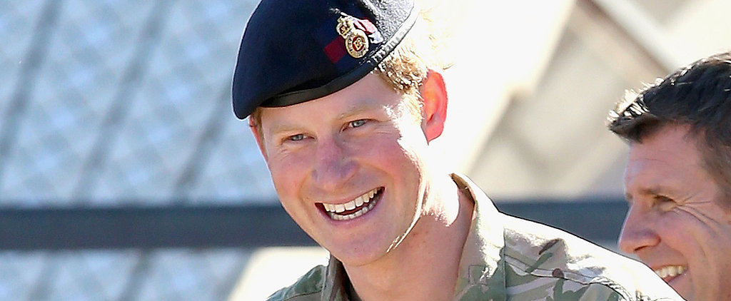 "Prince Harry Says He's Been Given a ""Hell of a Lot of Cuddly Toys"" For Charlotte"
