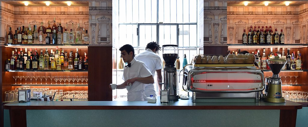 Wes Anderson's Cafe Looks Like It's Straight Out of His Movies