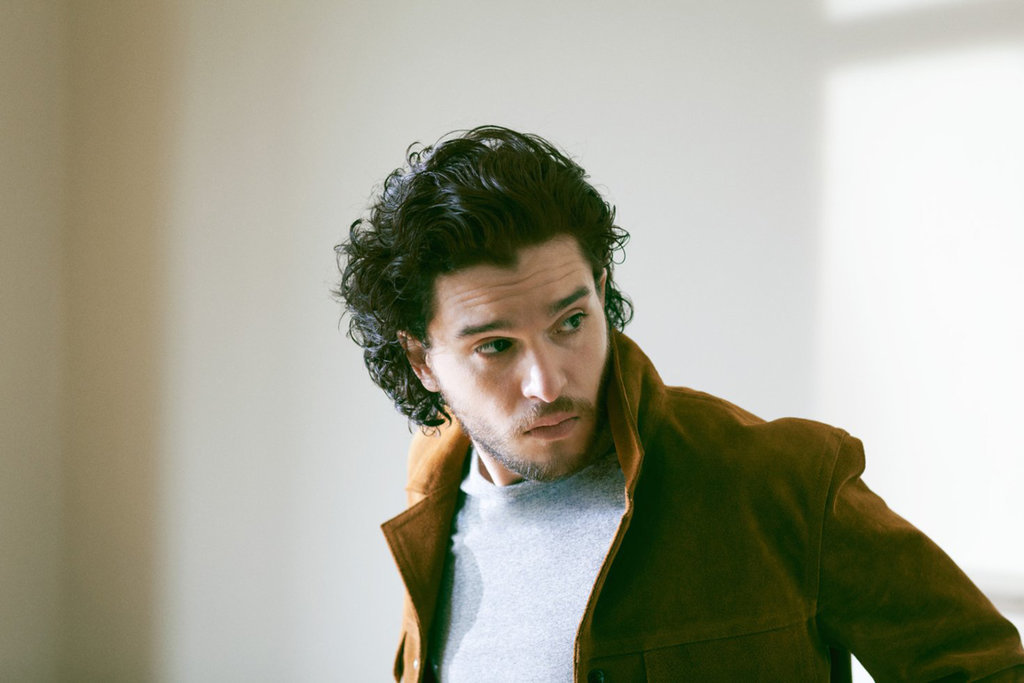 Kit Harington shows his smoldering good looks in this photoshoot
