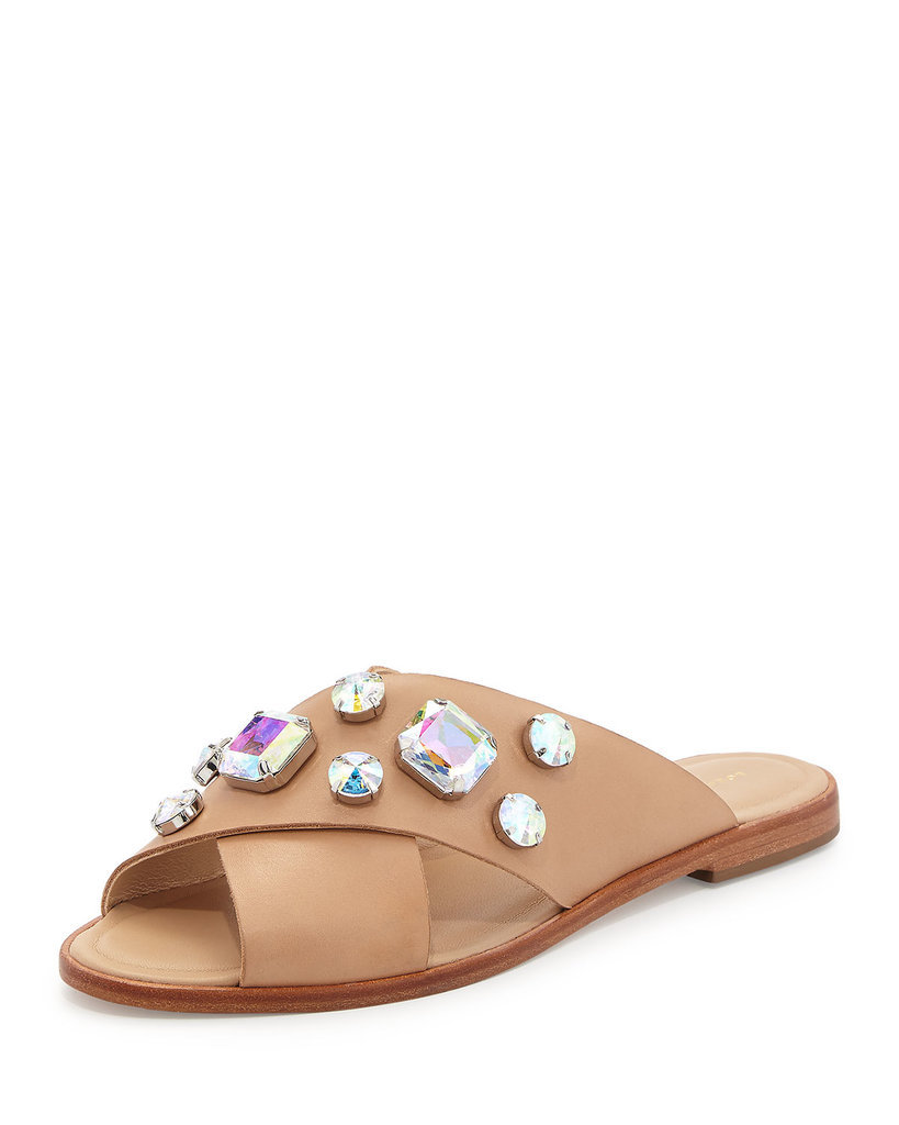 Loeffler Randall Jewel-Embellished Sandal