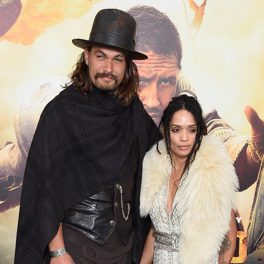 Jason Momoa Uk: Lisa Bonet And Jason Momoa At The Mad Max Premiere