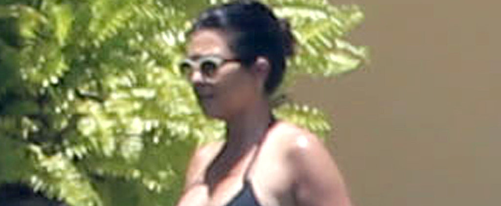 Kourtney Kardashian Vacations in a Bikini Months After Giving Birth