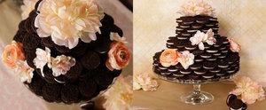A Wedding Cake Made Entirely of Oreos
