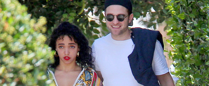 Robert Pattinson Is All Smiles With His Ab-Baring Fiancée Ahead of His Birthday
