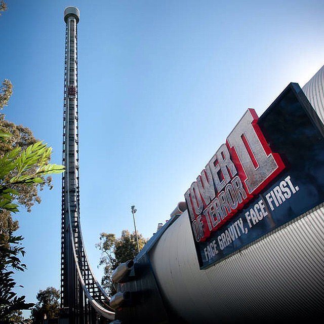 Tower of Terror II | 17 Insane Roller Coasters You Must ...