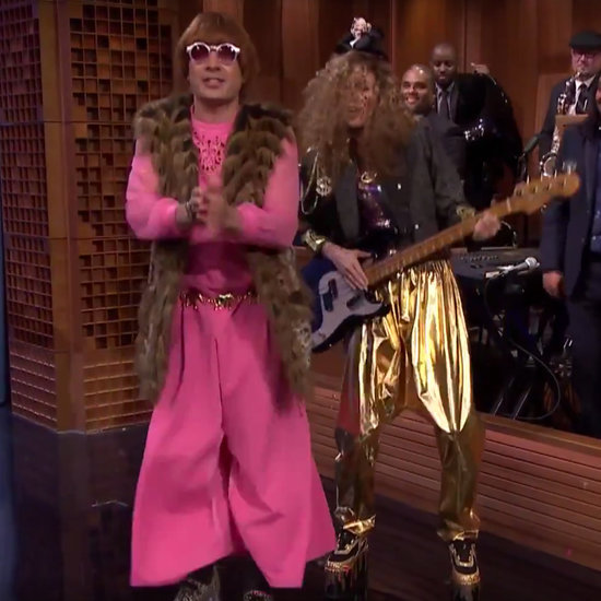 Charlize Theron Plays Dress-Up With Jimmy Fallon