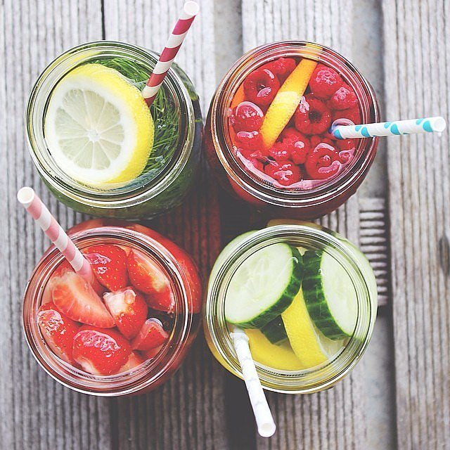 fruit sugar healthy water drinks with fruit