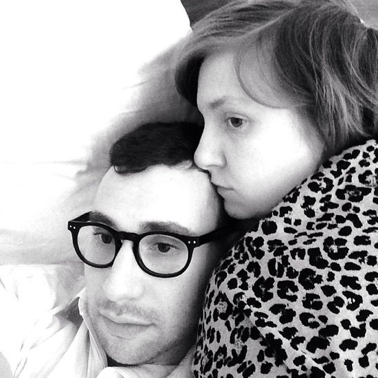 Lena Dunham and Jack Antonoff Cute Pictures