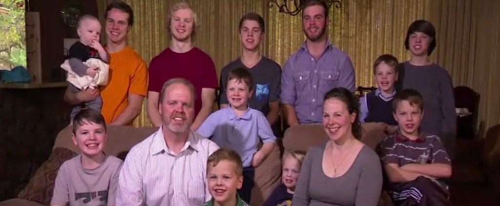 Couple With 12 Sons Is Expecting Lucky Number 13 — Will It Be a Boy or a Girl?
