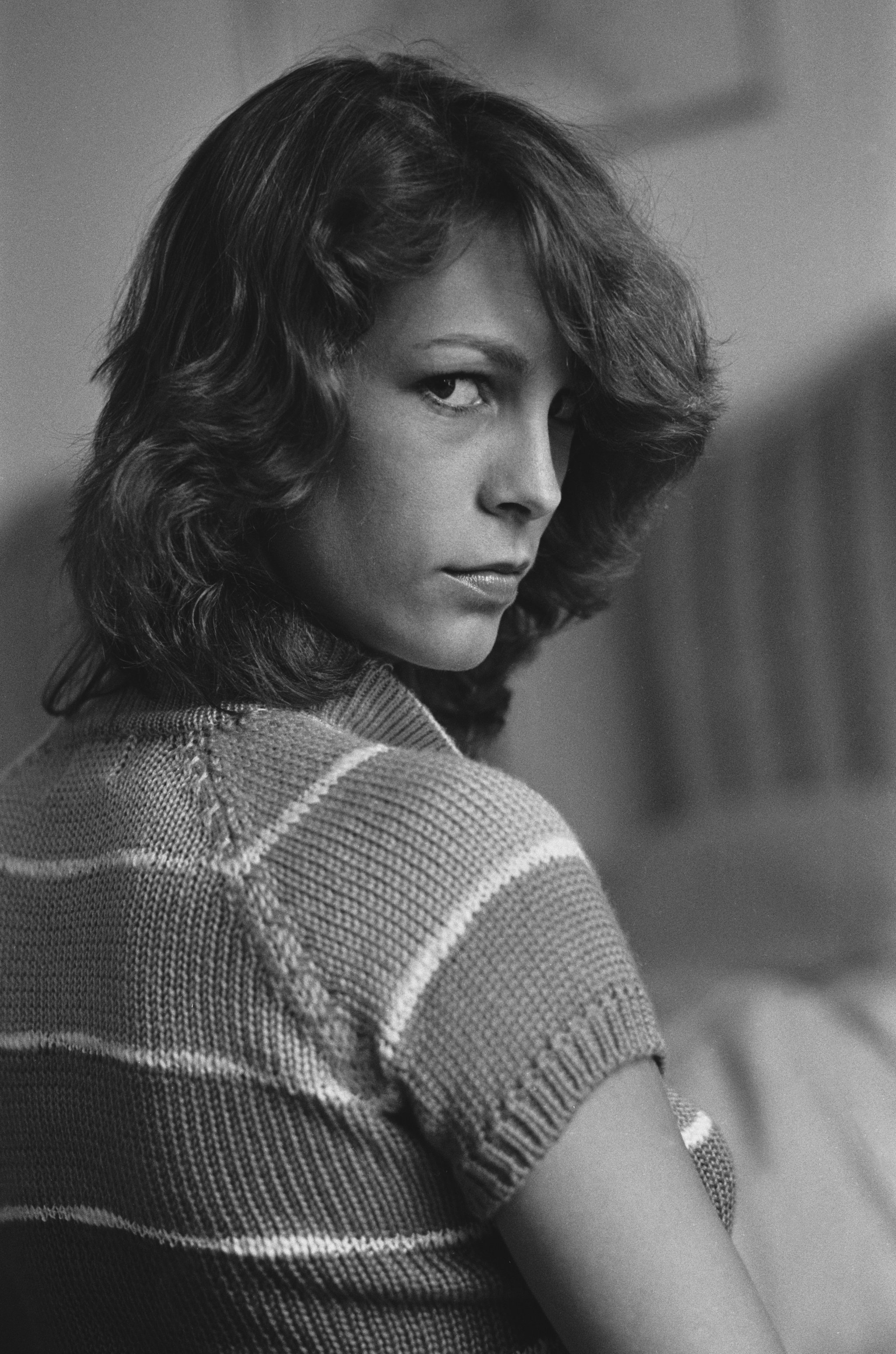 A young Jamie Lee Curtis was in attendance at the film