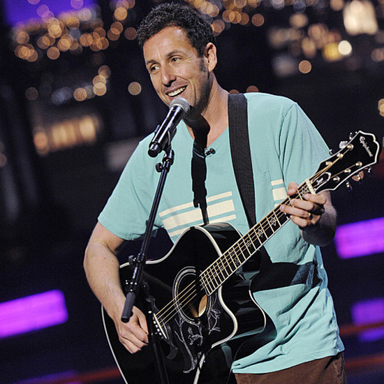 Adam Sandler Sings Goodbye to David Letterman