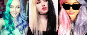 Forget Rainbow Hair; Half-and-Half Dye Is the Hot New Trend