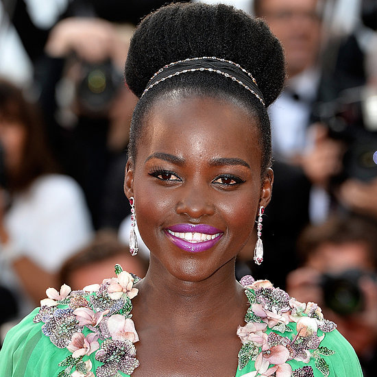 Lupita Nyong'o Green Dress at Cannes Film Festival 2015