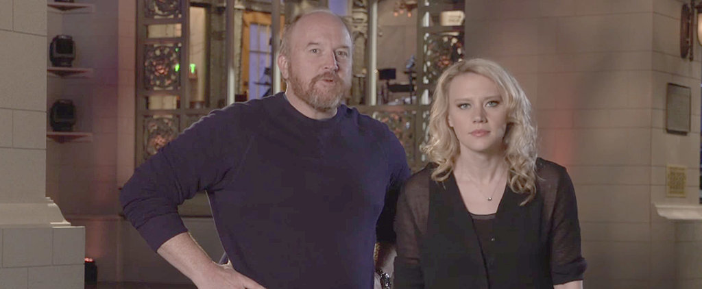 Watch Louis C.K.'s Promos For Saturday Night Live's Big Finale