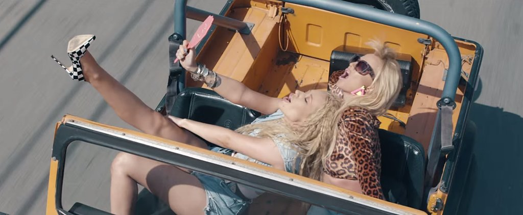 Britney Spears and Iggy Azalea Look Like '80s Barbies in Their New Music Video
