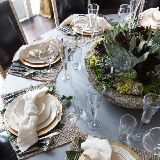 Create a Beautiful Tablescape Using What You Already Have