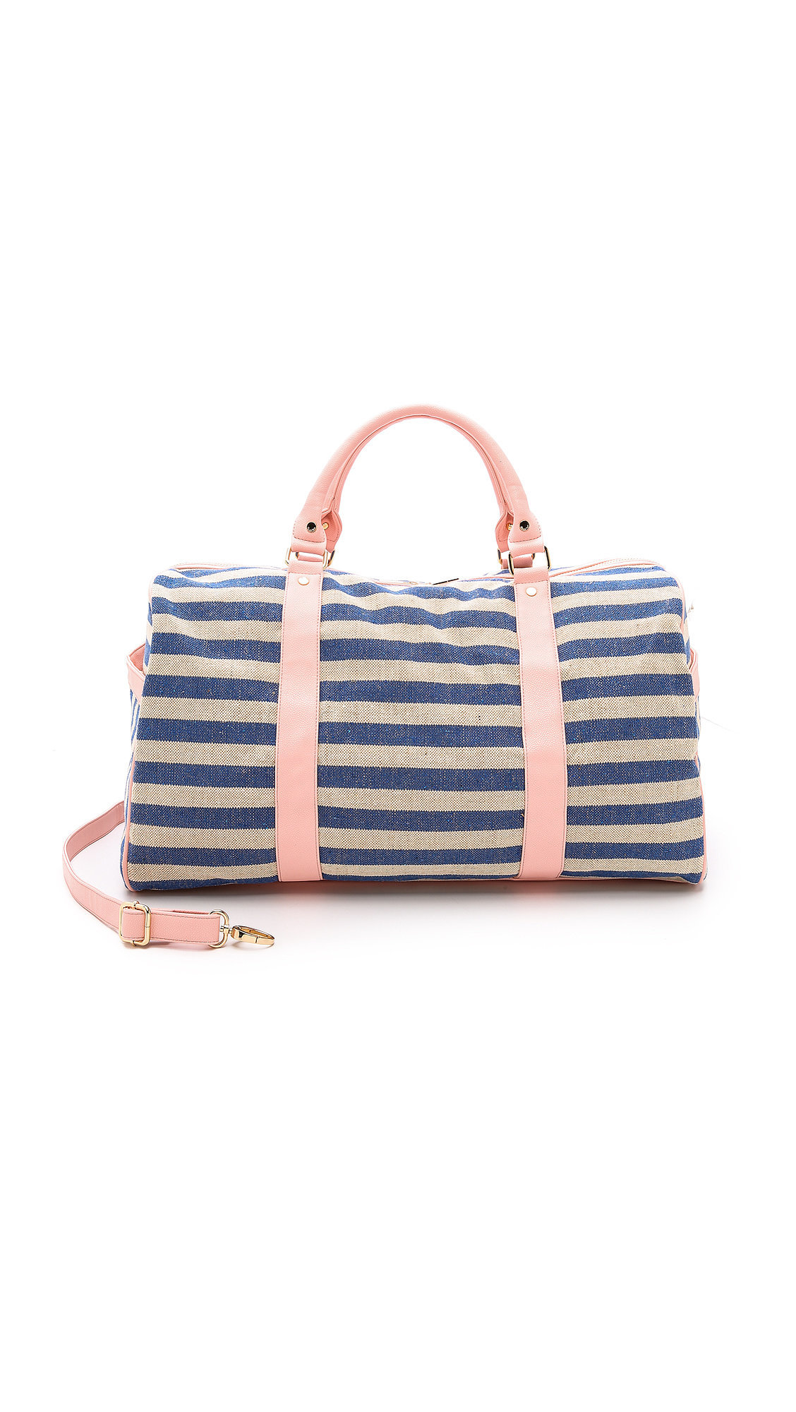Deux Lux Striped Weekend Bag