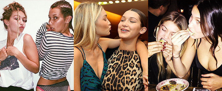 22 Times You Totally Related to Gigi and Bella Hadid's Sweet Sisterhood