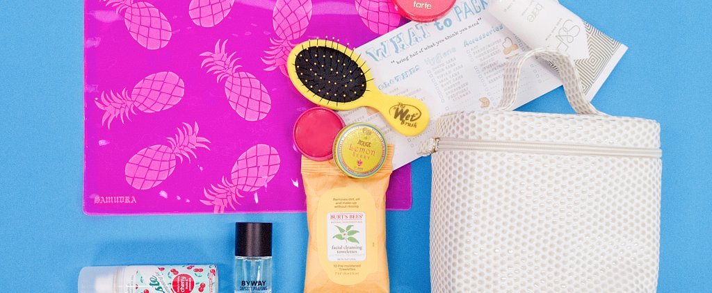 Your 3-Day Weekend Cosmetics Bag Packing Guide