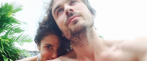 "Ian Somerhalder Thanks His ""Beautiful"" Wife, Nikki Reed, in Shirtless Instagram Photo"