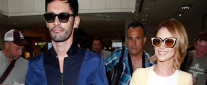 Cheryl Arrives in Cannes for the Film Festival