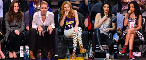 29 Times the Stars Went to a Basketball Game, but Their Outfits Suggested Otherwise