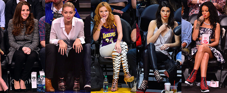 29 Times Stars Treated Basketball Games Like Their Own Runway Shows