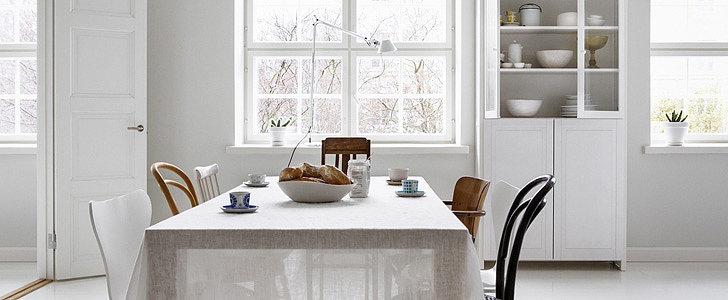 7 Romantic Summery Linen Tablecloths