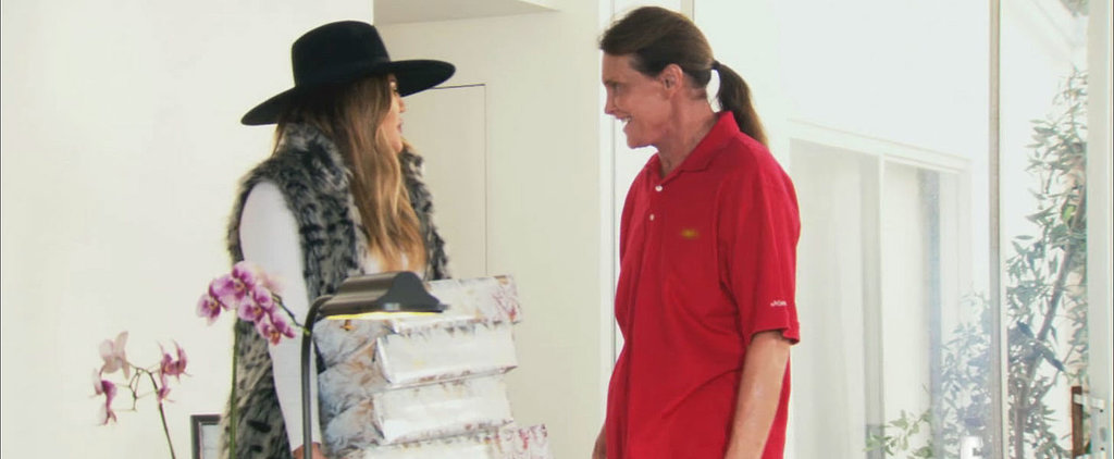 Khloé Kardashian Showers Bruce With Gifts of Women's Clothes