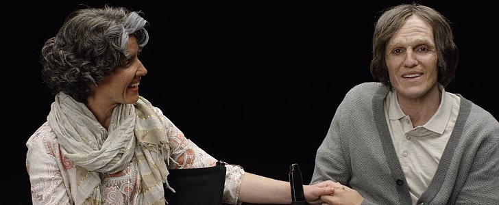 This Makeover of a Young Couple Into Elderly Spouses Will Make You Cry