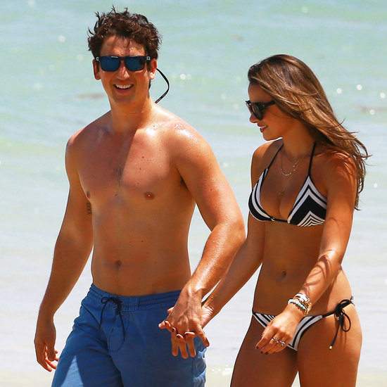 Miles Teller Kissing Keleigh Sperry in Miami | Pictures