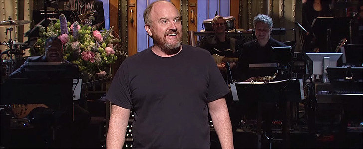 "Louis C.K. Opens His SNL's 40th Anniversary Show by Talking About His ""Mild Racism"""