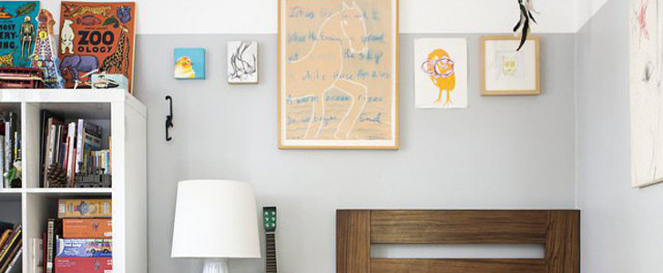 A Kids' Room With a Painting Trick