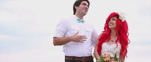 If Ariel Married Eric, Their Wedding Video Would Look Just Like This