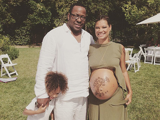 Bobby and Alicia Etheredge-Brown Are All Smiles at Her Baby Shower (PHOTOS)