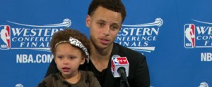 Stephen Curry's Daughter Totally Improved the Quality of His Postgame Interview