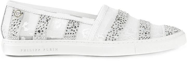 Philipp Plein Rose Sneakers