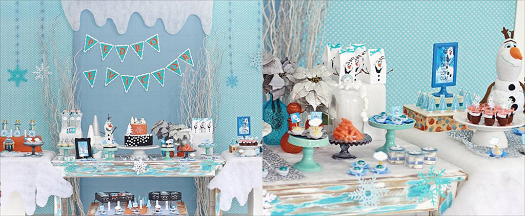 This Olaf Birthday Party Guarantees Frozen Fun
