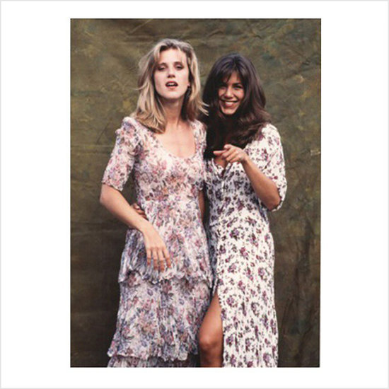 Jennifer Aniston Wearing Floral Maxi Dress