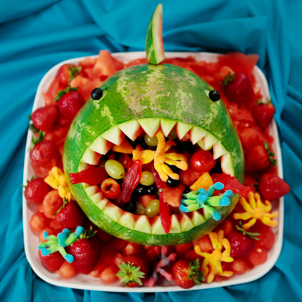 Watermelon Shark Fruit Salad
